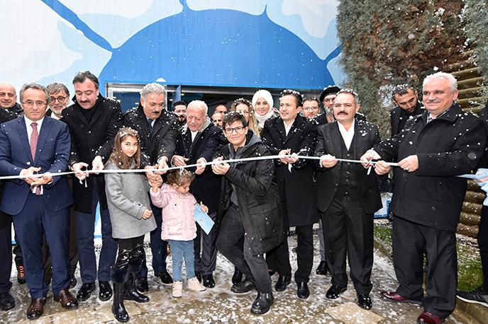 Türkiye'nin İlk Kutup Bilim Evi, Türkiye'nin En Fonksiyonel Parkı'nda Hizmete Açıldı