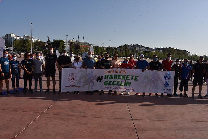 Avrupa Hareketlilik Haftası Nedeniyle Tuzla' da Spor Etkinliği Düzenlendi