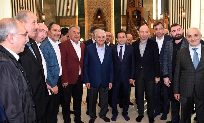 Yıldırım Ailesi ve Tuzla Belediyesi'nin Yaptırdığı Hacı Bekir Yıldırım Camisi İbadete Açıldı