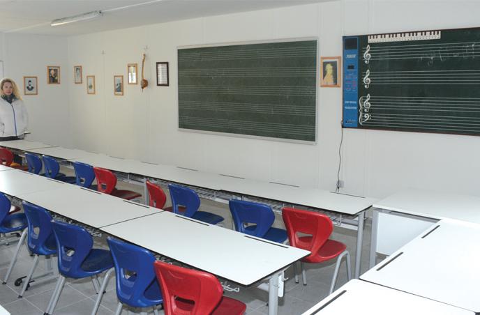 Çağrıbey Ortaokulu Ek Hizmet Binası
